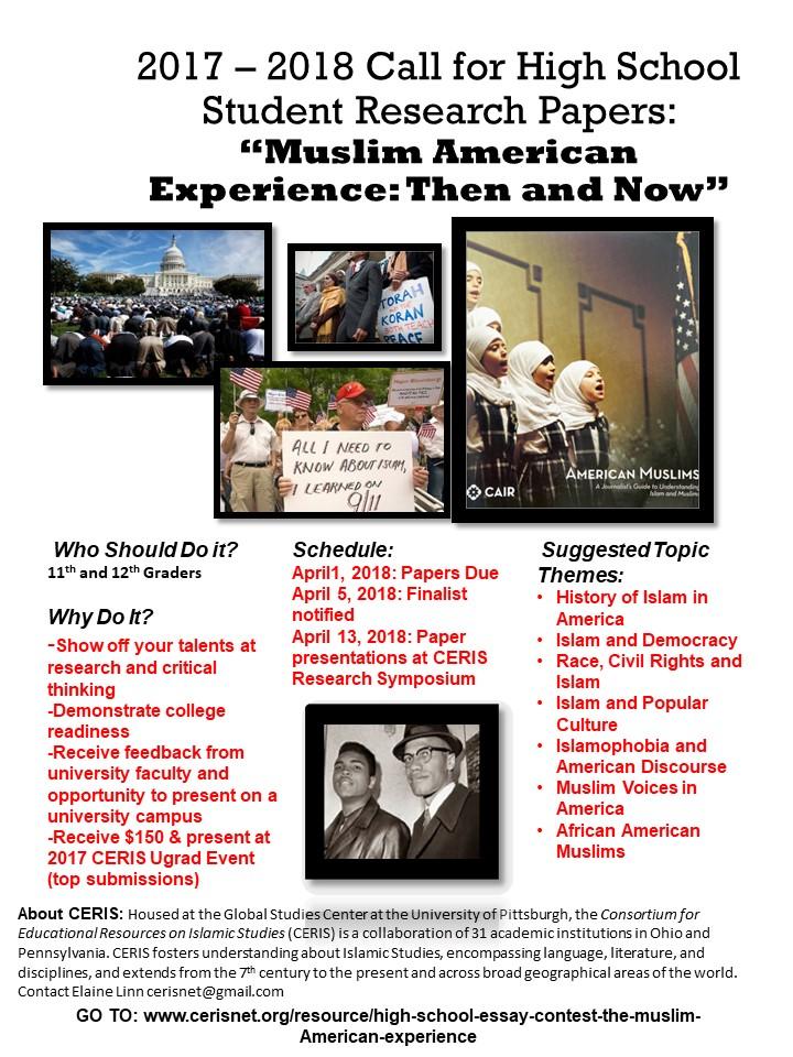 Favorite Person Essay  Roman Fever Essay also Essay Writing On School High School Essay Contest Muslim American Experiences Then  Uf Essay Prompt