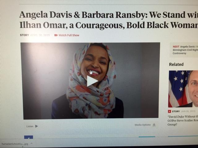 black women in defense of ilhan omar